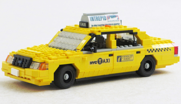 Lego Ford Crown Victoria NYC Taxi