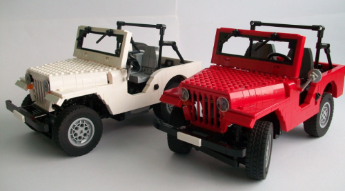 Jeep Rubicon Red Jeep | THE LEGO CAR BLOG