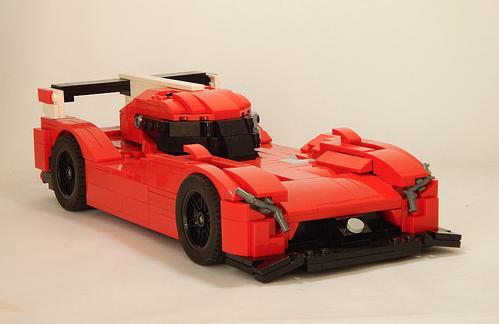 Lego Nissan GT-R LM Nismo