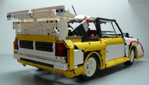 Lego Technic Audi Quattro