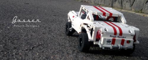 Lego Chevrolet Bel Air Gasser Hot Rod