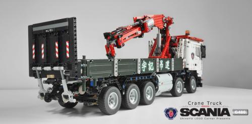 Lego Technic RC Scania Crane Truck