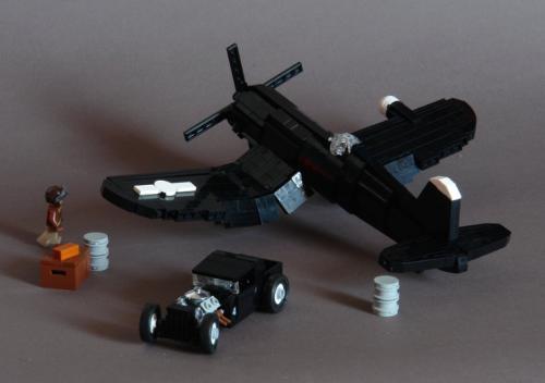 Lego Corsair Hot Rod Plane