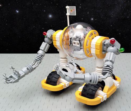 Lego Sci-Fi Mech Rover