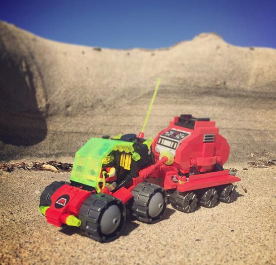 Lego M-Tron Rover