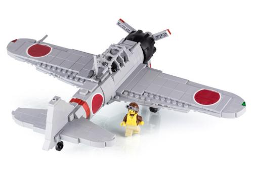 Lego Mitsubishi A6M Zero Fighter Plane