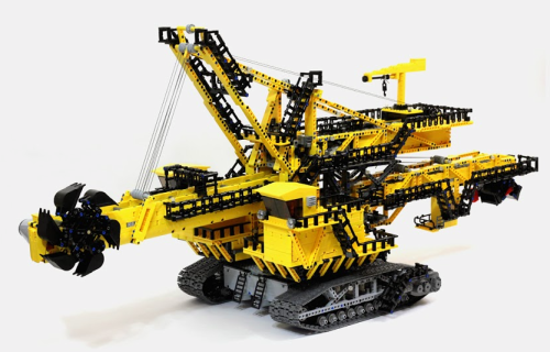 Lego Technic Bucket Wheel Excavator ER-1250
