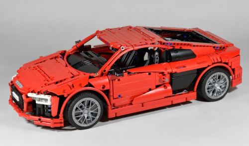 Lego Technic Audi R8 V10