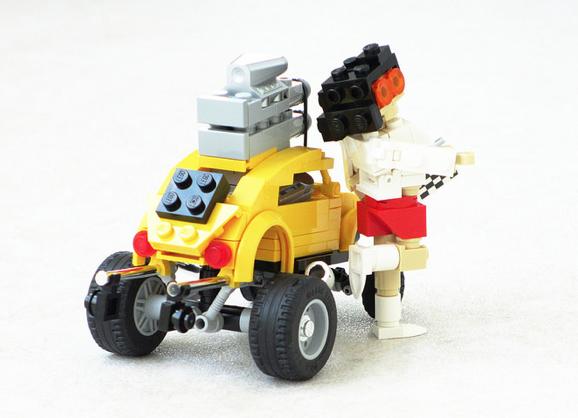 Lego VW Beetle Volksrod