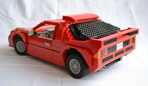 Lego Ford RS200