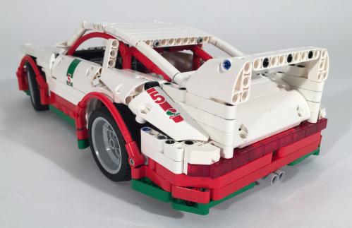 Lego Technic Porsche 911 Carrera
