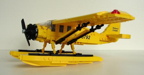 Lego Bellanca CH-300 Tintin Aircraft