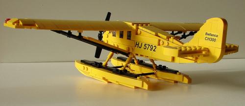 Lego Tintin Seaplane
