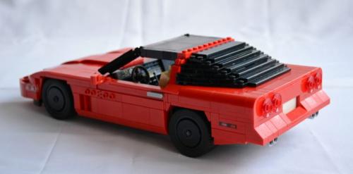Lego Corvette C4