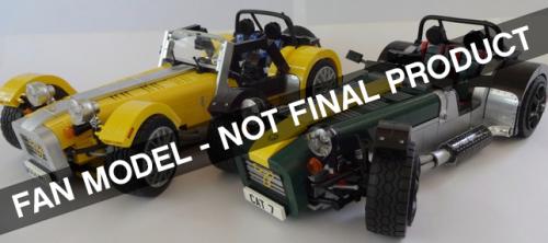Lego Caterham 7 Set