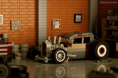 Lego Rat Rod Hot Rod