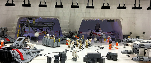 Lego Starwars Rebel Base Hoth