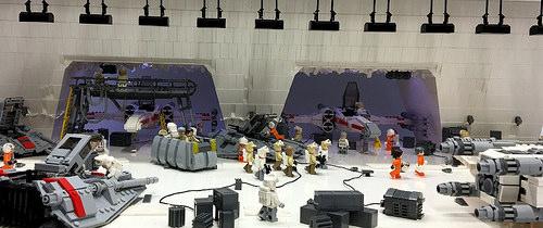 Lego Starwars Rebel Base Hoth
