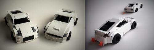 Lego Nissan Datsun Fairlady 240Z
