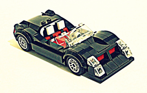 Lego Blackjack Concept Car
