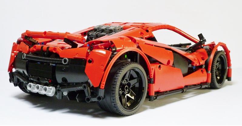 lego technic rc supercar the lego car blog. Black Bedroom Furniture Sets. Home Design Ideas