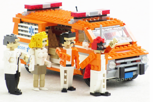 Lego The Cannonball Run