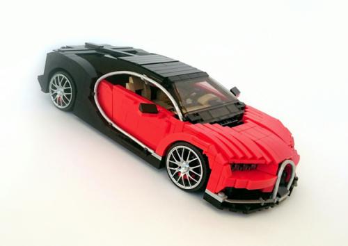 Lego Bugatti Chiron Firas Abu Jaber