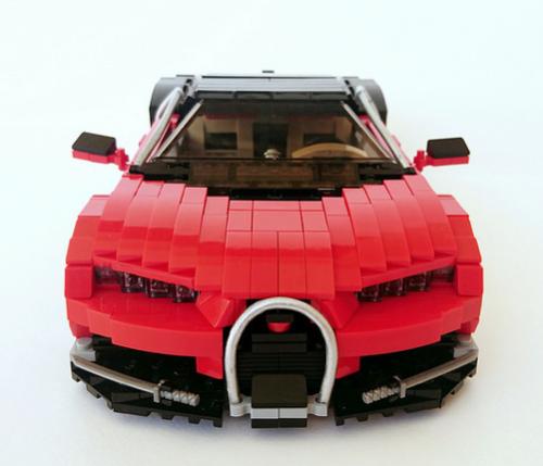 Lego Bugatti Chiron Firas Abu-Jaber