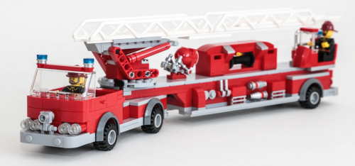 Lego Fire Engine Ladder