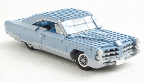 Lego Pontiac Bonneville 1965
