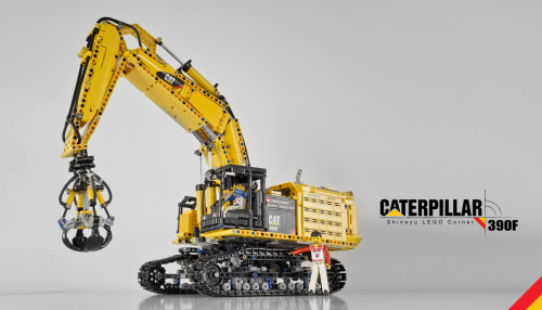 Lego Technic Caterpillar 390F