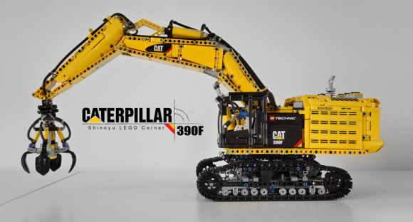 Lego Technic Remote Control Caterpillar 390F