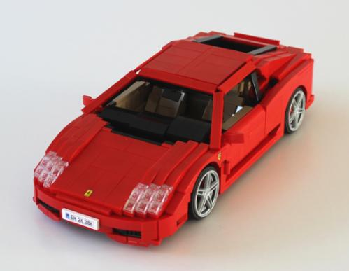 Lego Ferrari 360 Modena
