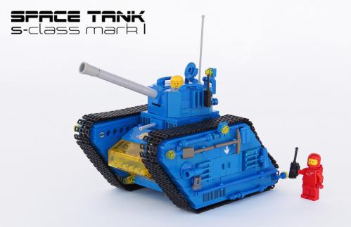 Lego Space Tank