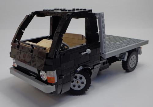 Lego Toyota Hiace Flatbed