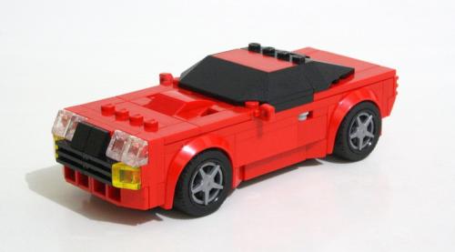 Lego Aston Martin V8 Zagato