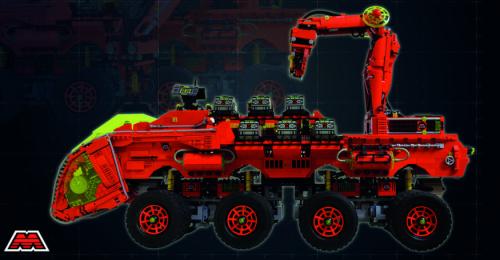Lego 6989 M-Tron