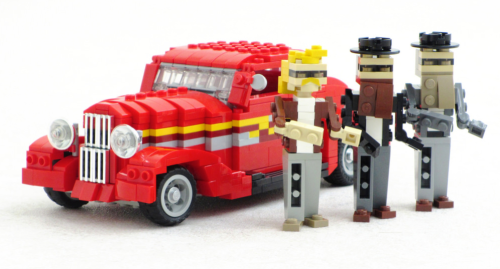 Lego ZZ Top Eliminator Hot Rod