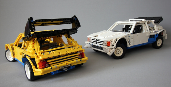 Lego Technic Peugeot 205 Turbo Group B