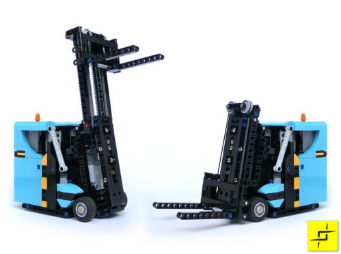 Lego Remote Control Forklift SBrick