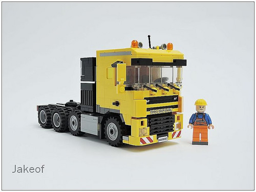 Yellow Lorry 02
