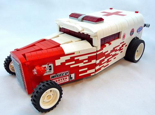 Lego Ambulance Hot Rod