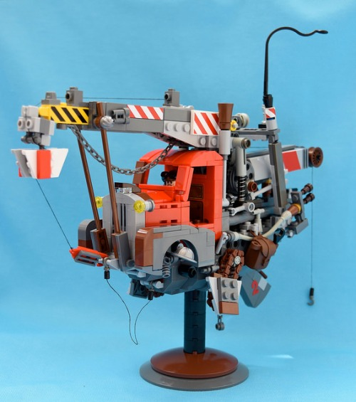 Lego Flying Pick-Up Truck