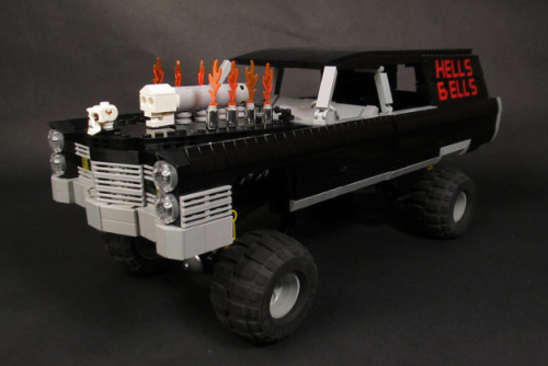 Lego Cadillac Hot Rod Hearse