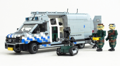 Lego VW Crafter Bomb Disposal