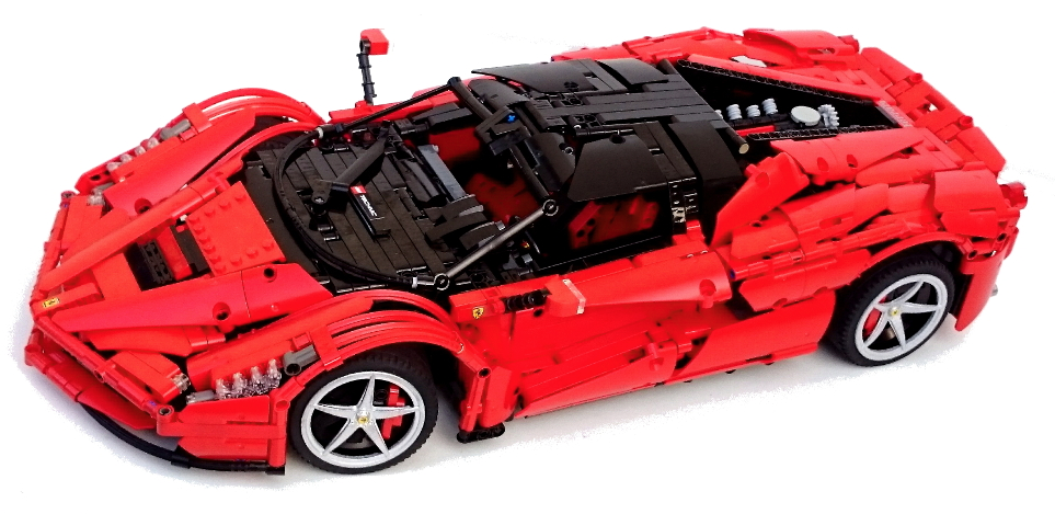 Lego Technic Ferrari Laferrari Rc The Lego Car Blog