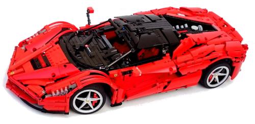 Lego Technic Ferrari LaFerrari RC