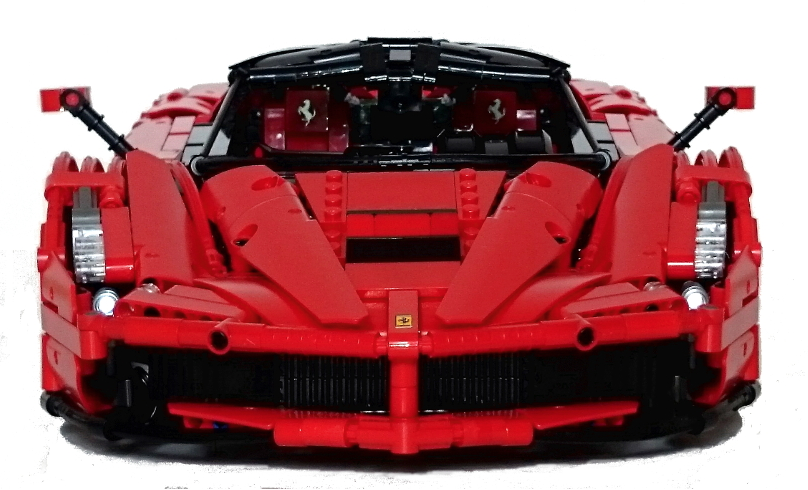 Lego Technic Ferrari Laferrari 1 9 The Lego Car Blog