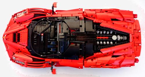 Lego Remote Control Ferrari