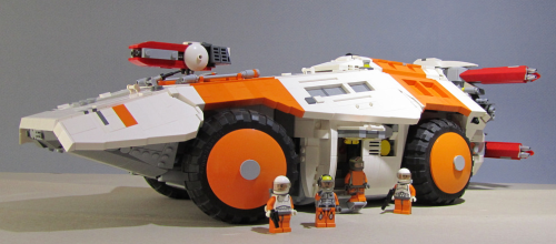 Lego Sci-Fi Armoured Gun Carrier